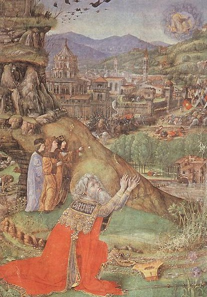 Florentine Bible 1470 | Gherardo Di Giovanni | oil painting