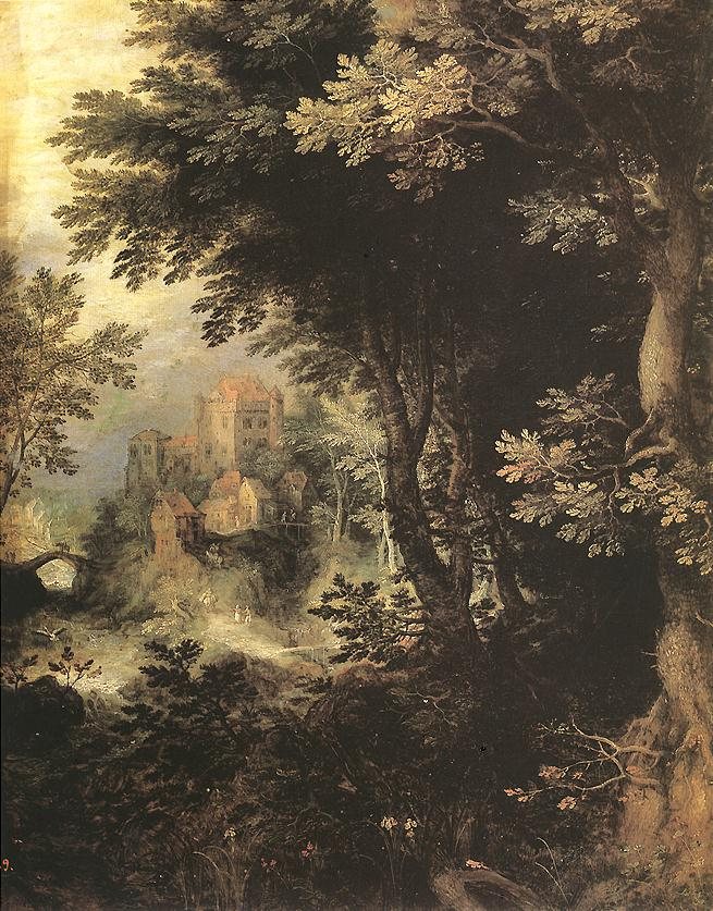 Landscape | Gillis van Coninxloo | oil painting