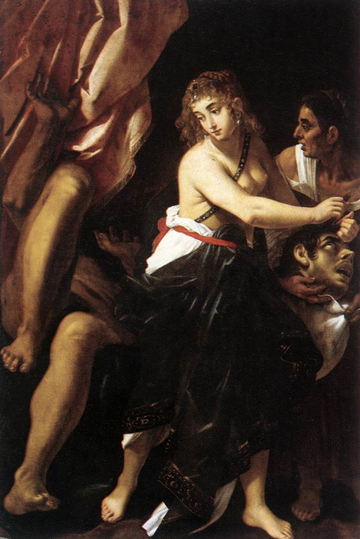 Judith and the Head of Holofernes 1608 | Giovanni Baglione | oil painting