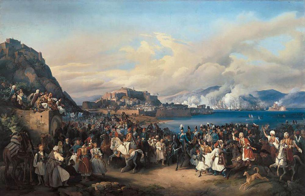 The Entry of King Othon of Greece into Nauplia 1835 | Heinrich Maria von Hess | oil painting