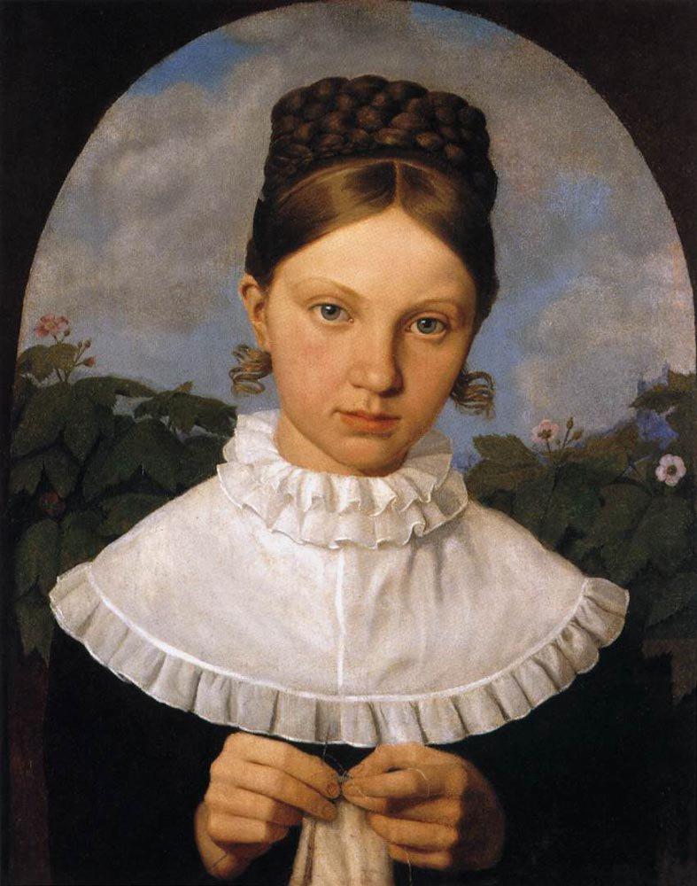 Portrait of Fanny Gail 1820 1821 | Heinrich Maria von Hess | oil painting