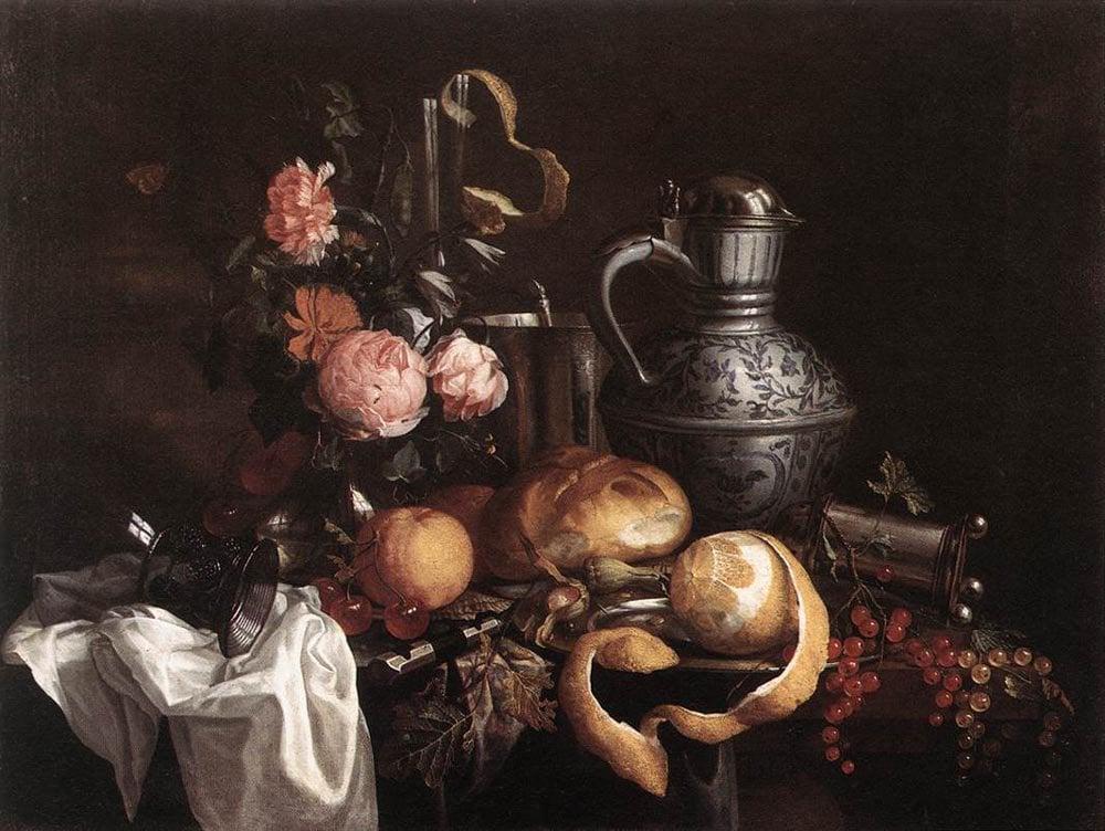 Still Life | Jan Davidsz de Heem | oil painting