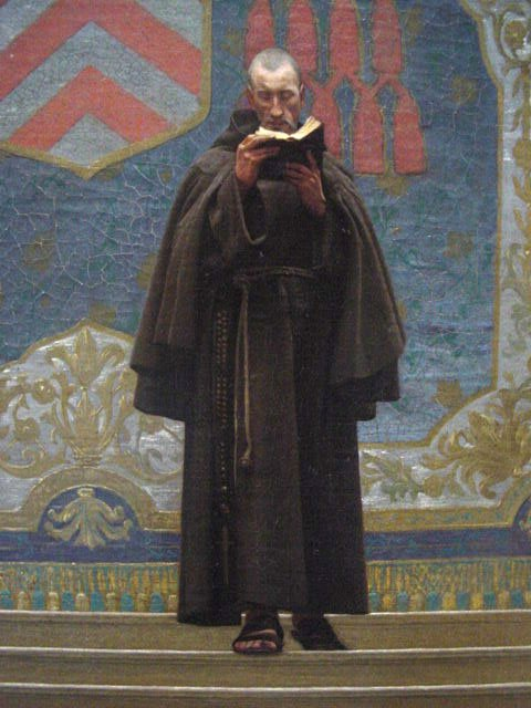 L Eminence Grise | Jean Leon Gerome | oil painting