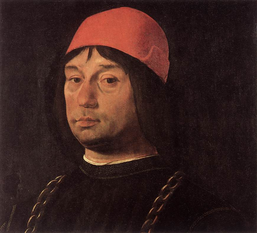 Portrait of Giovanni Bentivoglio 1492 | Lorenzo Costa | oil painting