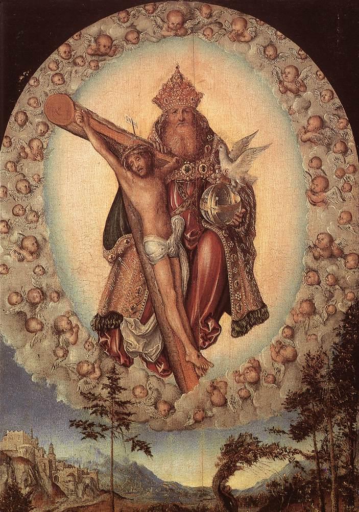 Trinity 1515 1518 | Lucas Cranach the Elder | oil painting