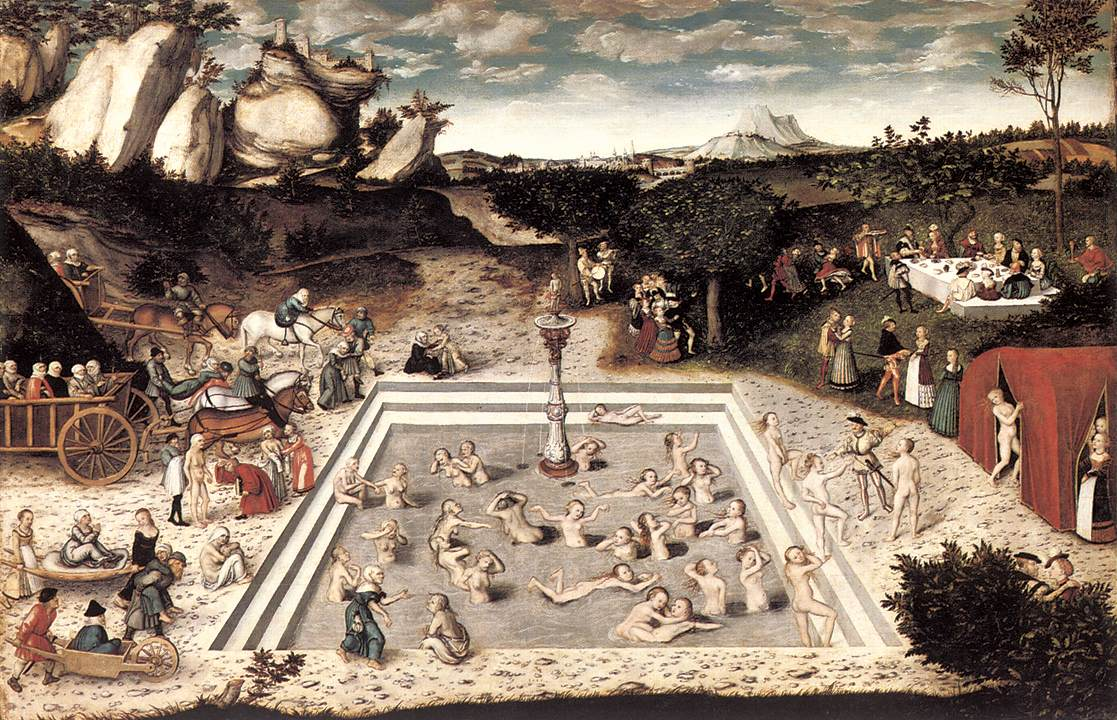 The Fountain of Youth 1546 | Lucas Cranach the Elder | oil painting