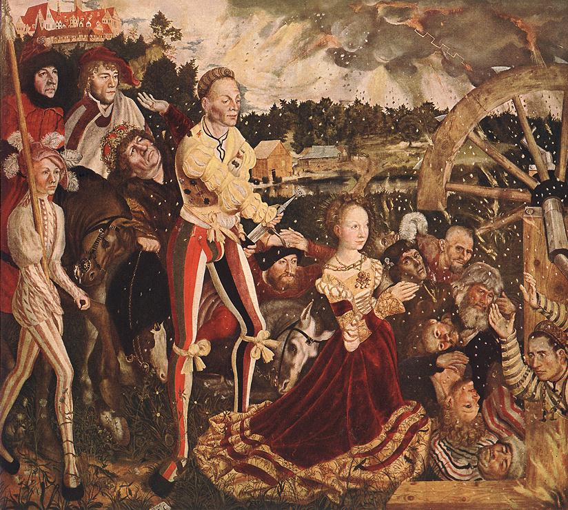 The Martyrdom of St Catherine 1506   Lucas Cranach the Elder   oil painting