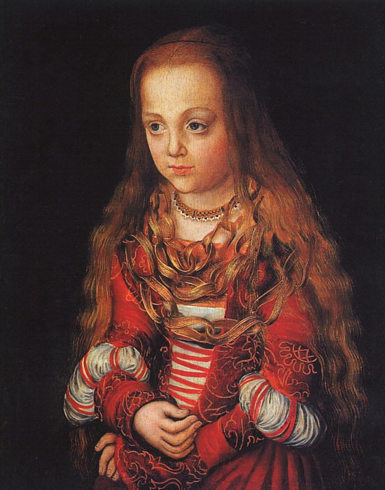 A Princess of Saxony 1517 | Lucas Cranach the Elder | oil painting