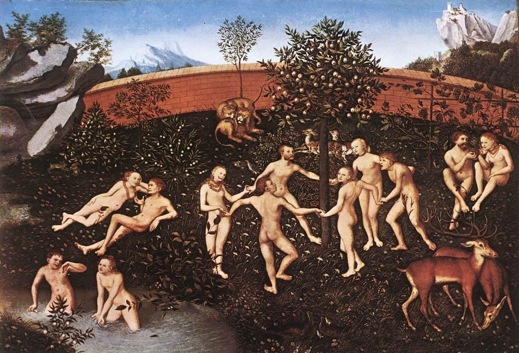 The Golden Age | Lucas Cranach the Elder | oil painting