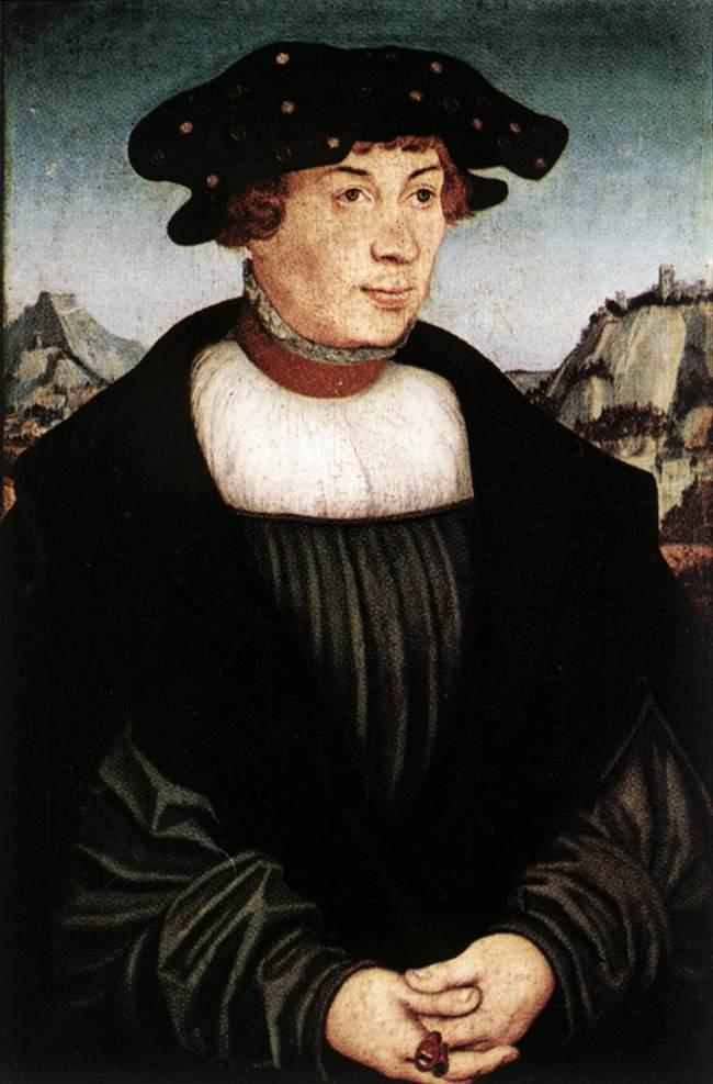 Hans Melber 1526 | Lucas Cranach the Elder | oil painting