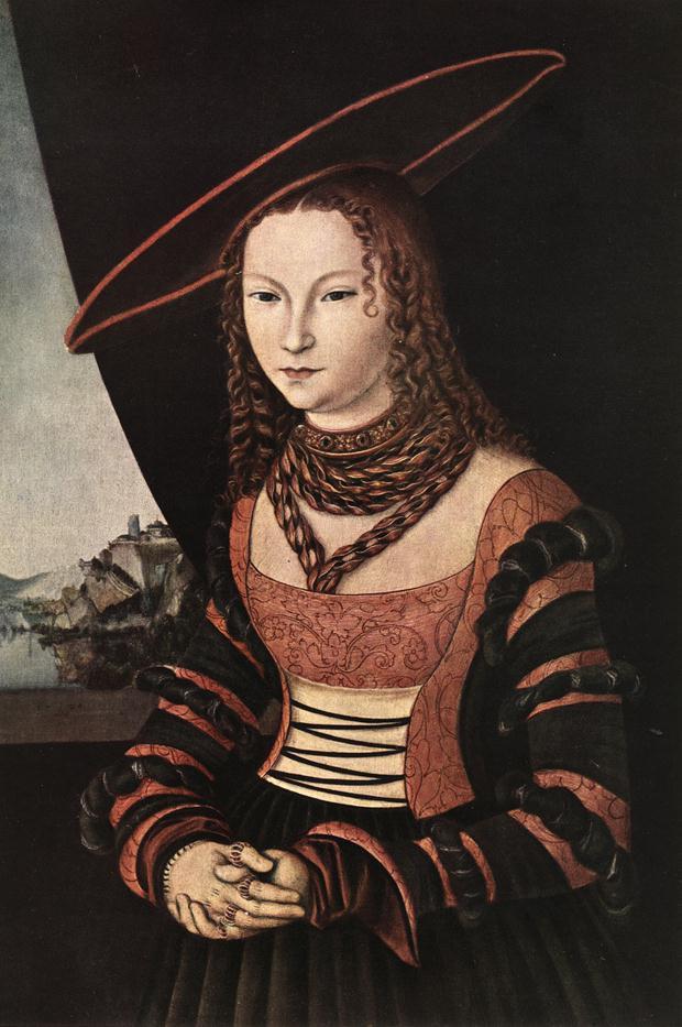 Portrait of a Woman 1526 | Lucas Cranach the Elder | oil painting