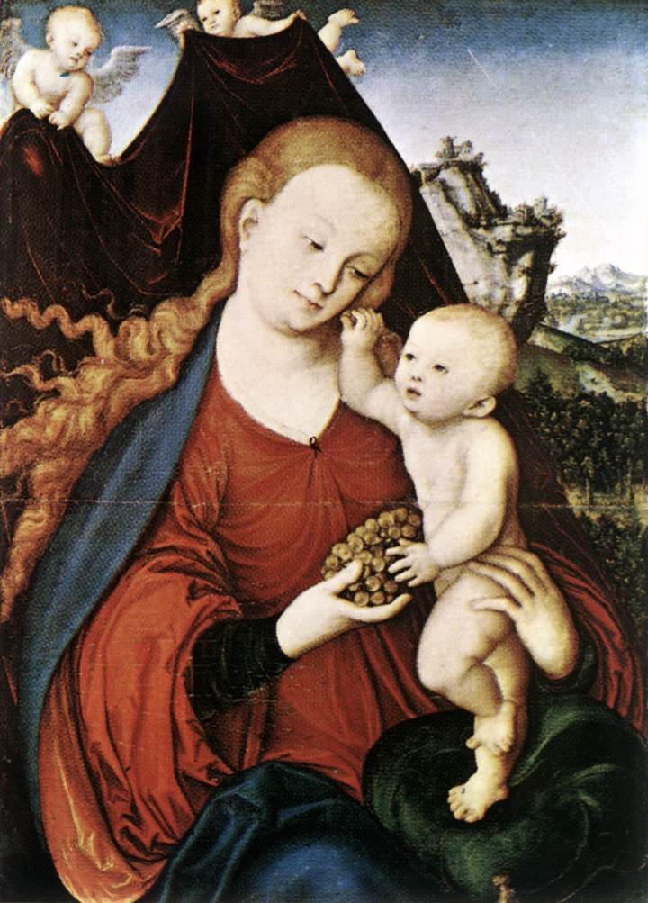 Madonna and Child | Lucas Cranach the Elder | oil painting