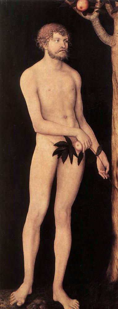 Adam and Eve 1531 | Lucas Cranach the Elder | oil painting