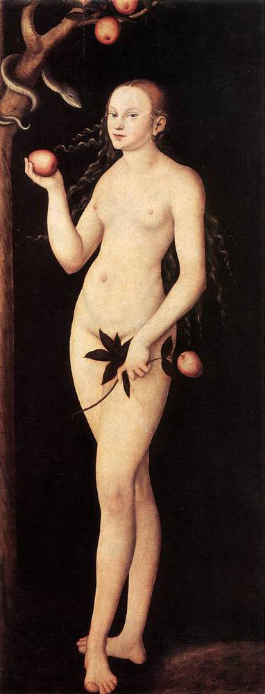 Adam and Eve 1531 | Lucas Cranach the Elder | oil painting