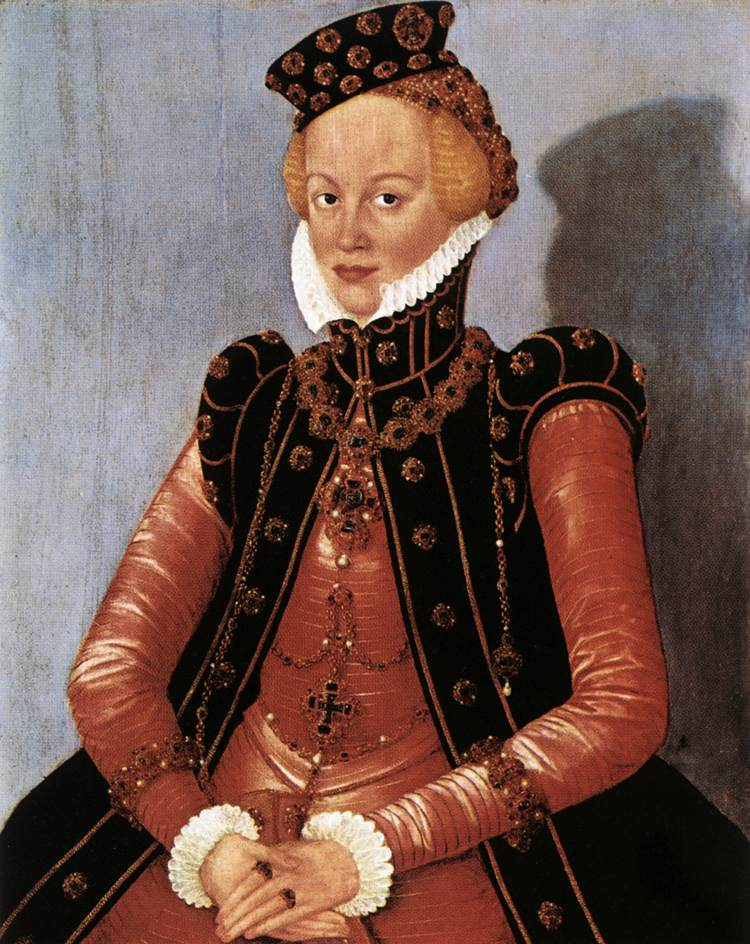 Portrait of a Woman | Lucas Cranach the Younger | oil painting