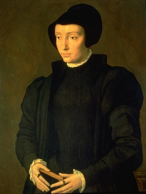Christina of Denmark 1545 | Michiel van Coxcie | oil painting