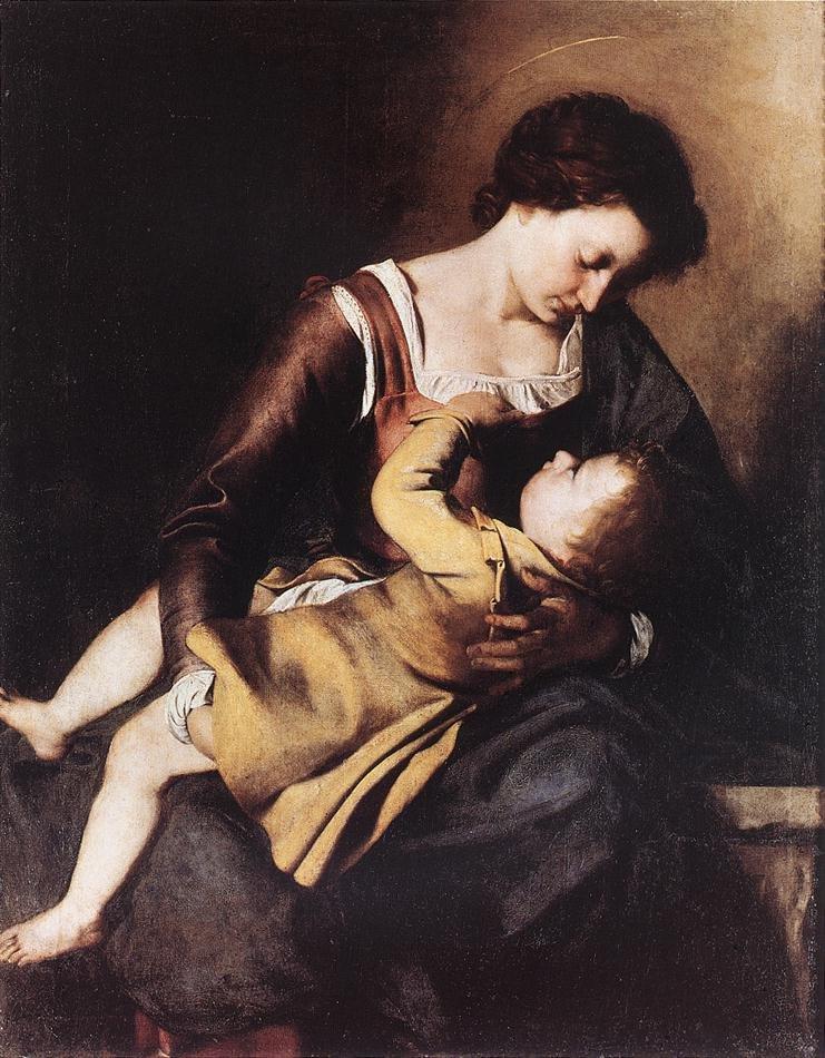 Madonna | Orazio Gentleschi | oil painting