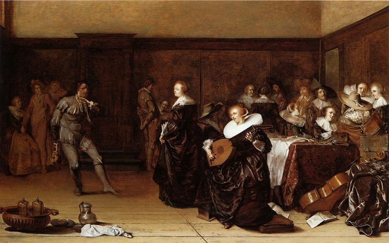 Musical Company 1639 | Pieter Codde | oil painting