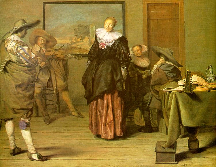 The Meagre Company 1633 1637 | Pieter Codde | oil painting