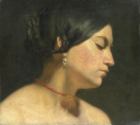 Maria Magdalena 1854 | Sir Lawrence Alma Tadema | oil painting