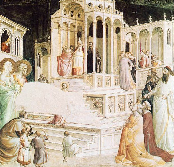 Presentation of Mary in the Temple 1327 1330 | Taddeo Gaddi | oil painting
