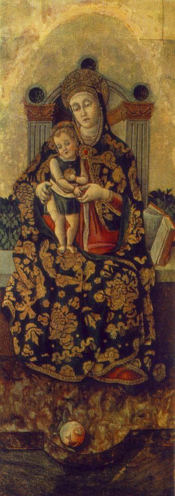 Madonna with the Child | Vittorio Crivelli | oil painting