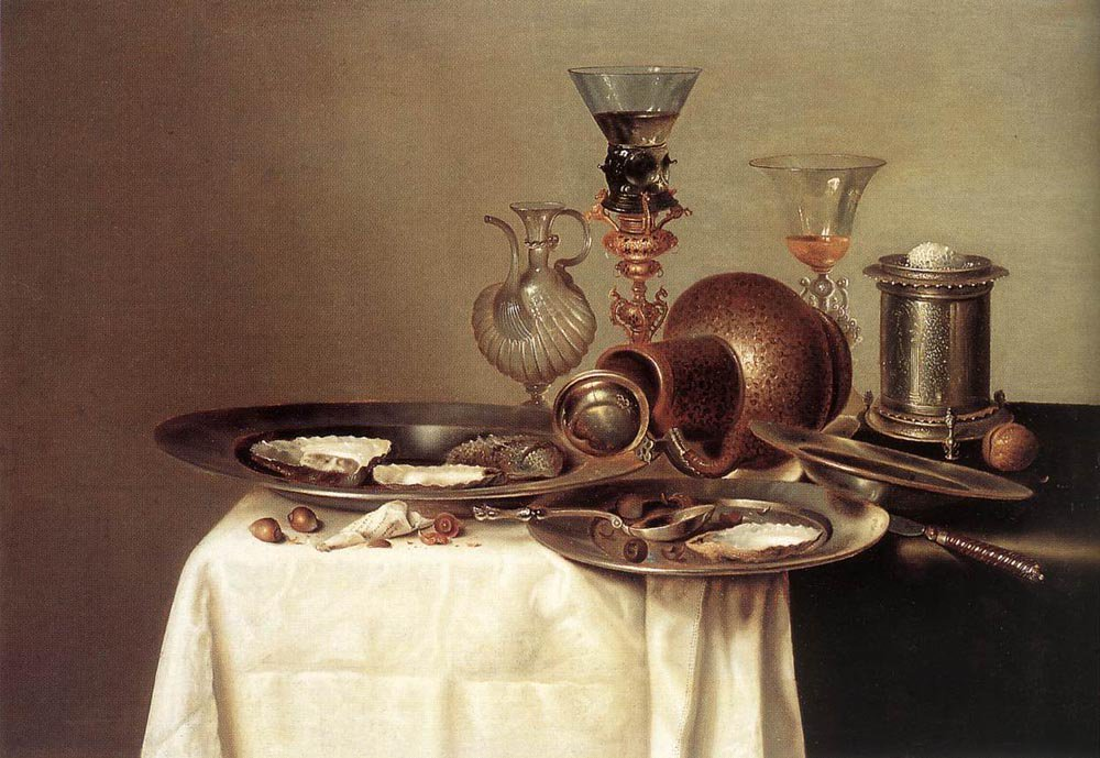 Still Life 1637 | Willem Claesz Heda | oil painting