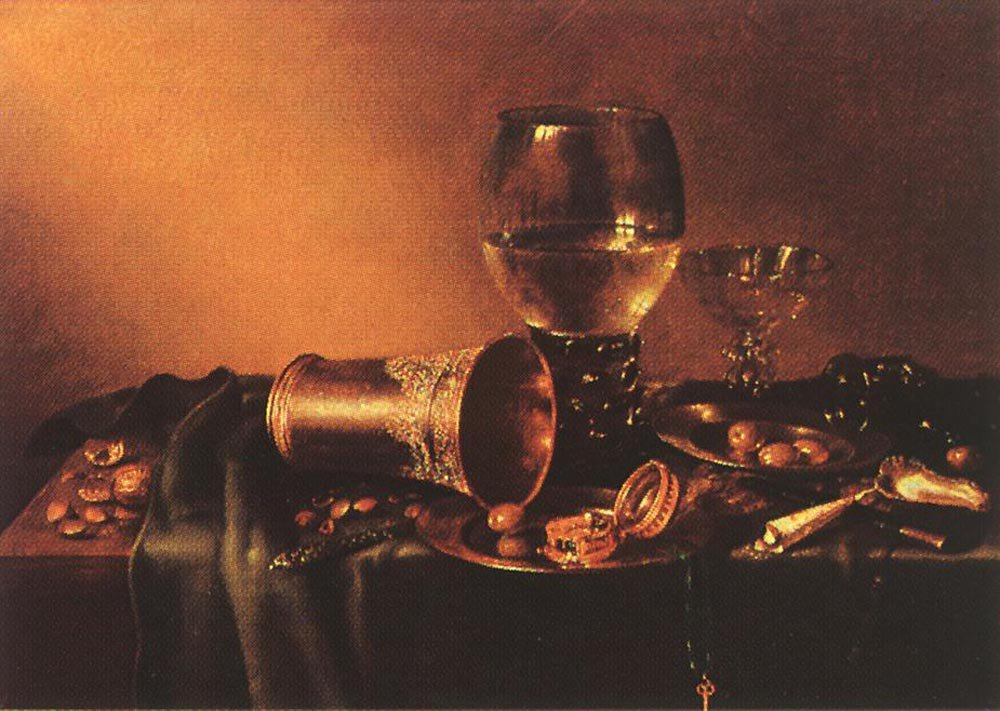 Still Life 1657 | Willem Claesz Heda | oil painting