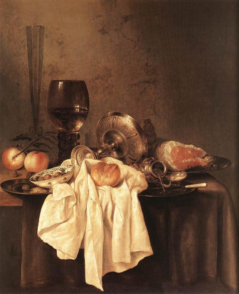 Still Life 1651 | Willem Claesz Heda | oil painting