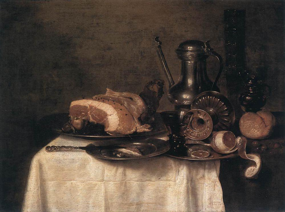 Still Life 1649 | Willem Claesz Heda | oil painting