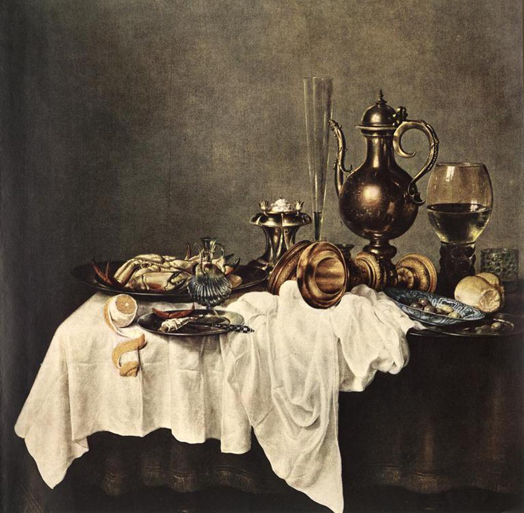 Breakfast of Crab 1648 | Willem Claesz Heda | oil painting
