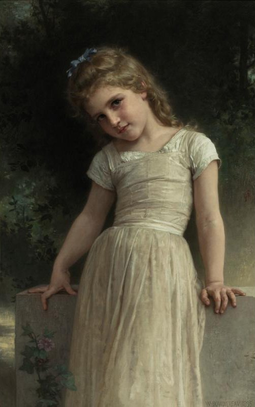The Mischievous One 1895 | William Bouguereau | oil painting