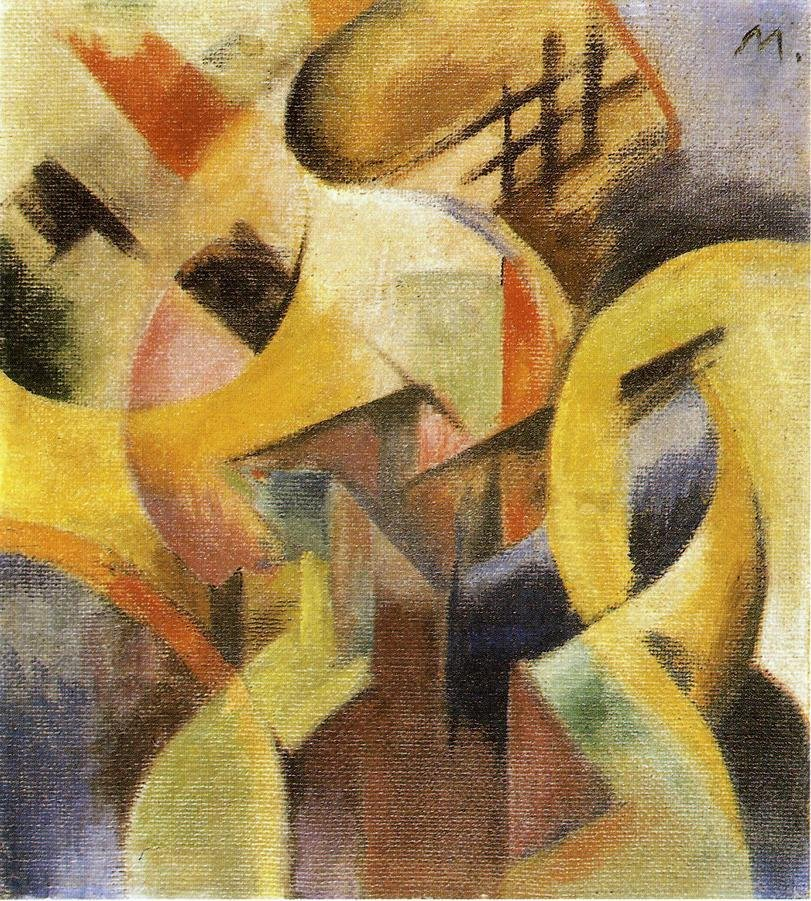 Small Composition I 1913 | Franz Marc | oil painting