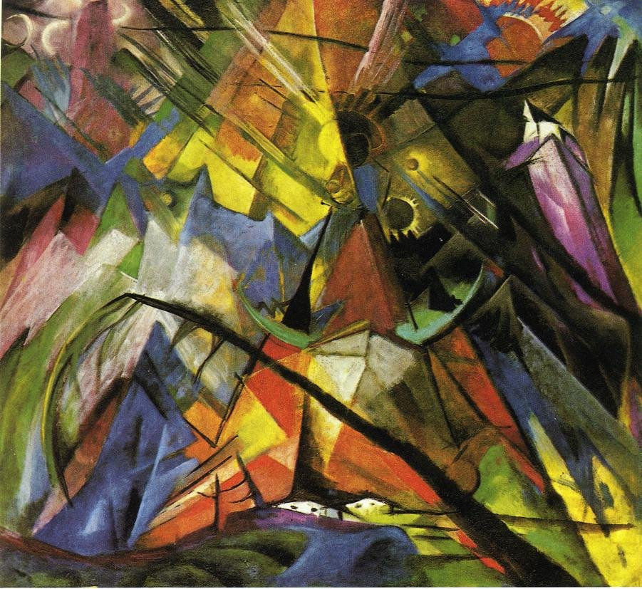 Tyrol 1914 | Franz Marc | oil painting