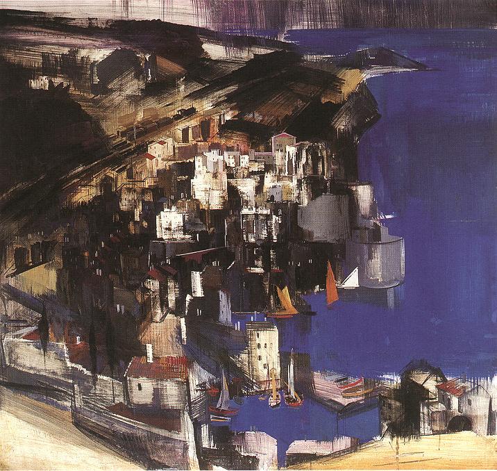 Cefalu 1930 | Vilmos Aba Novak | oil painting