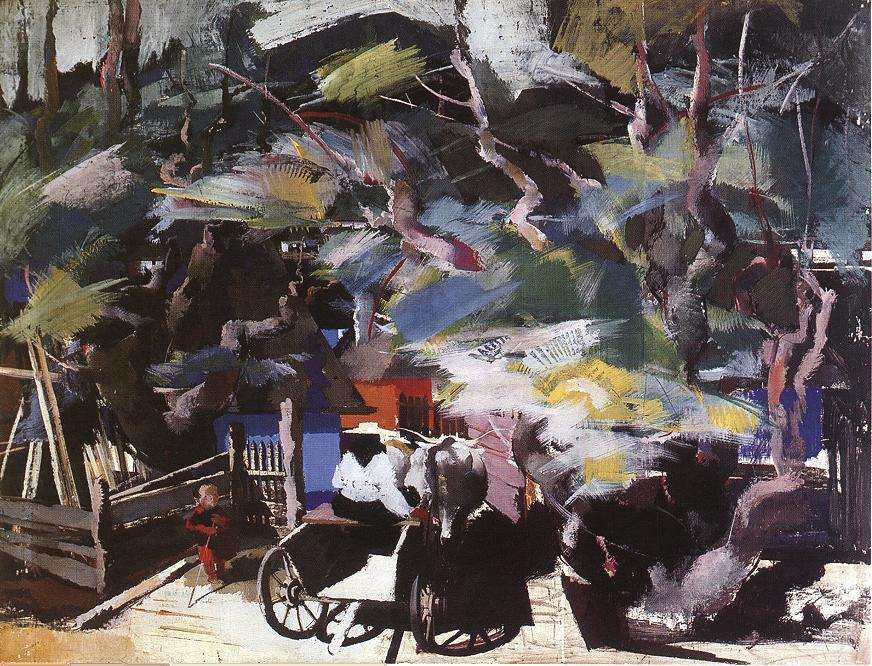 Homebound 1937 | Vilmos Aba Novak | oil painting
