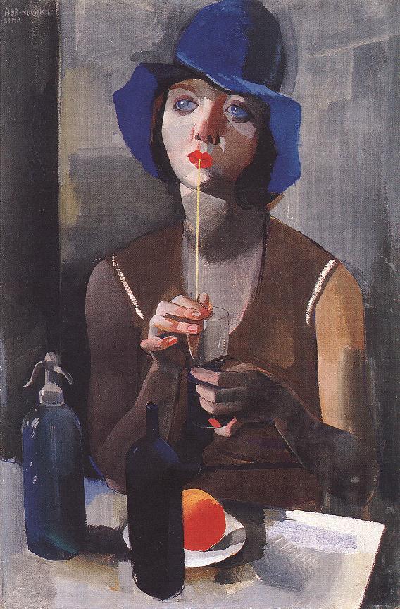 Laura No 1 1929 | Vilmos Aba Novak | oil painting