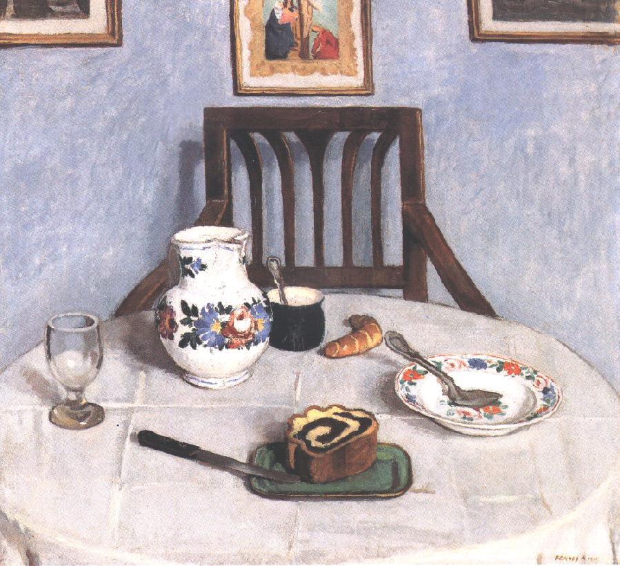 Poppy-seed Cake 1910   Adolf Fenyes   oil painting