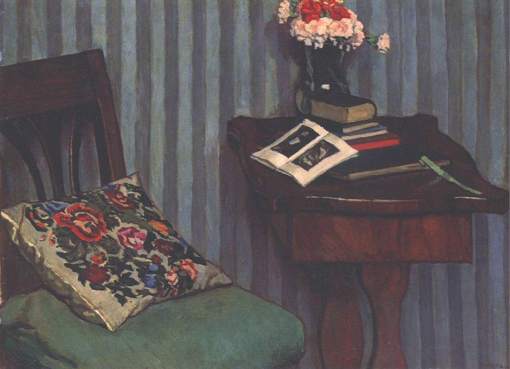 Books 1911 | Adolf Fenyes | oil painting
