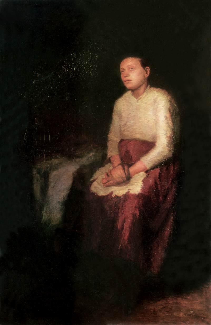Motherhood 1902   Adolf Fenyes   oil painting