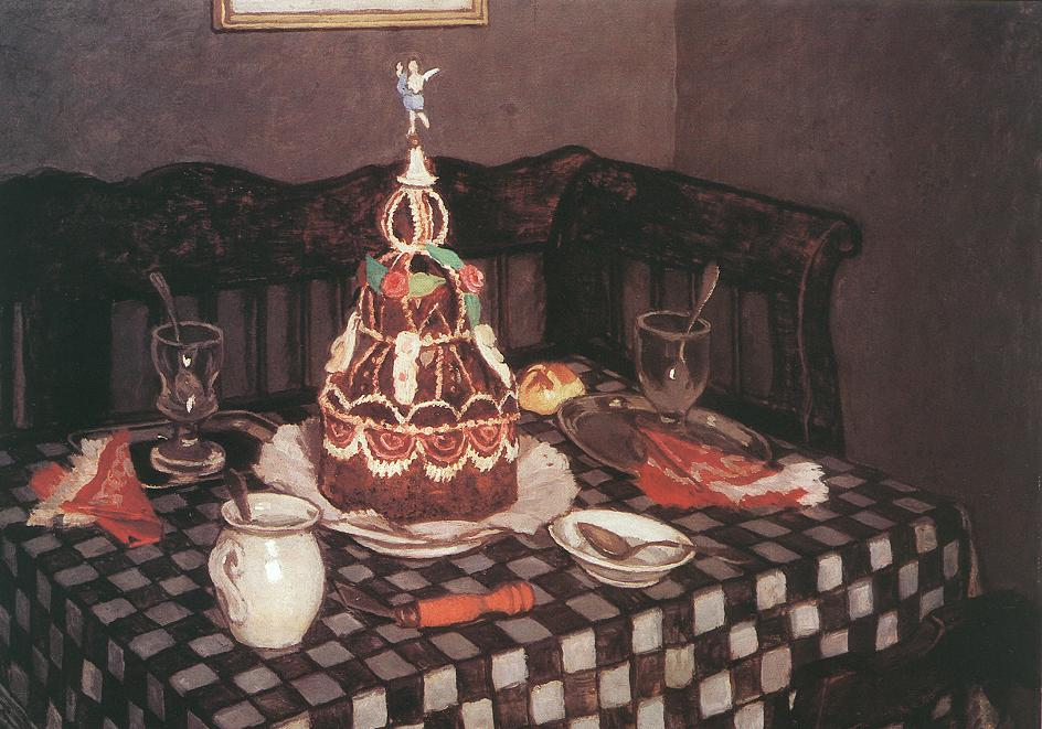 The Layer Cake 1912 | Adolf Fenyes | oil painting