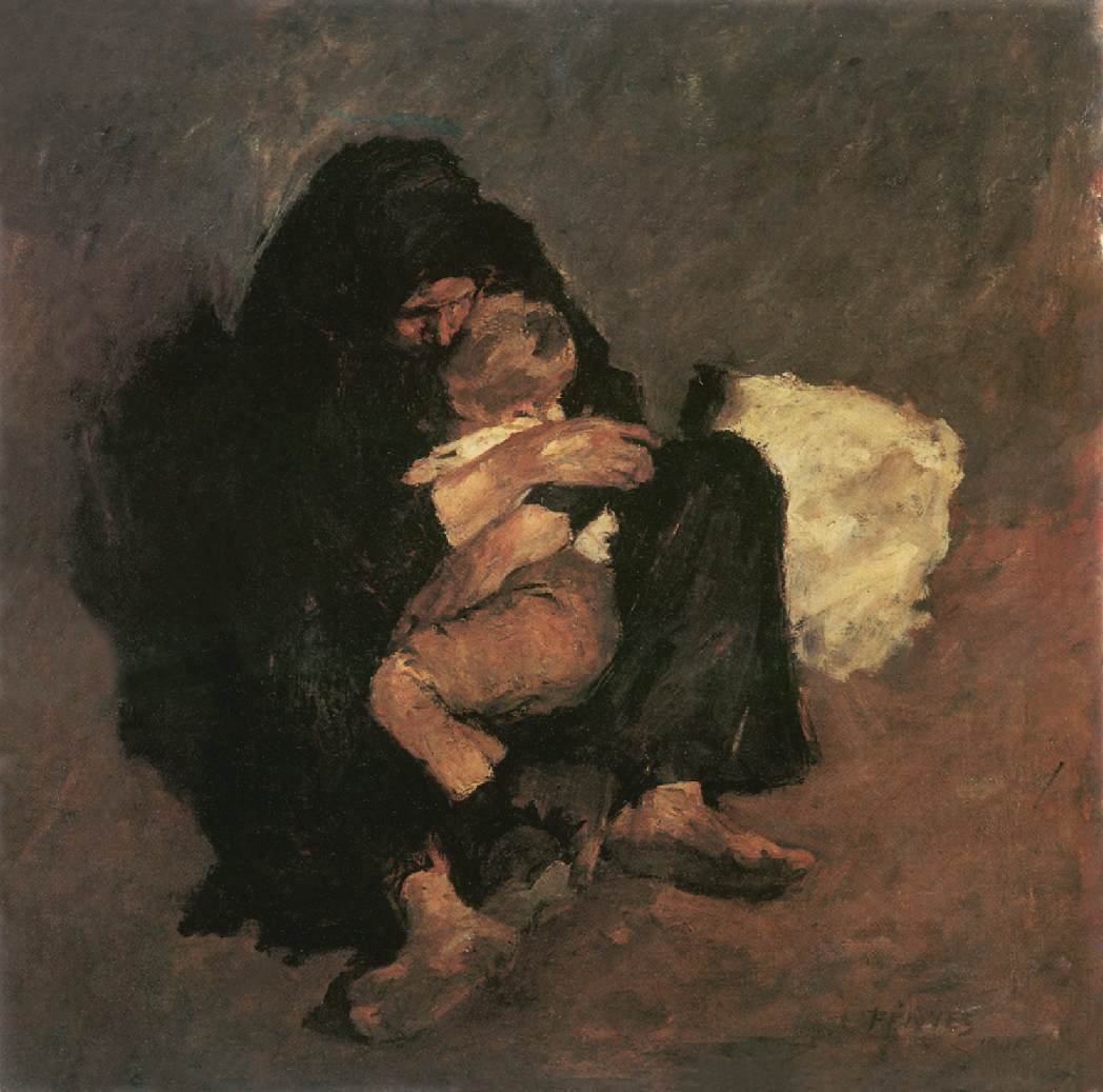 Mother 1901   Adolf Fenyes   oil painting