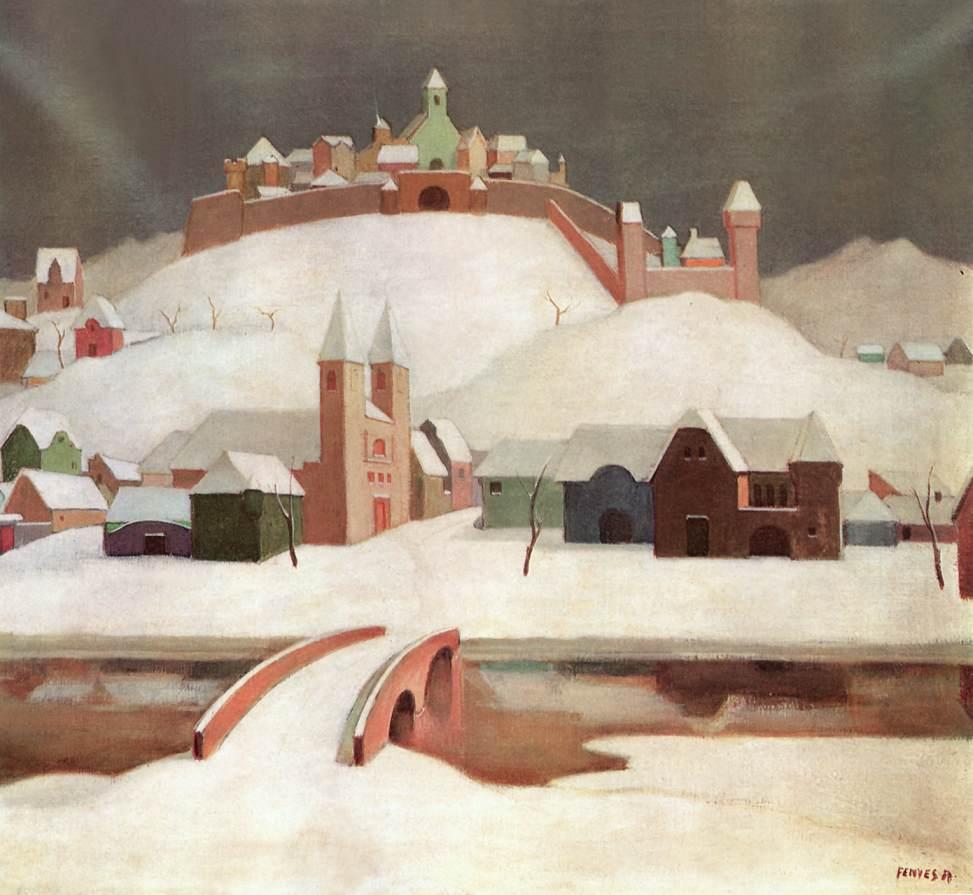 Imaginary Landscape after 1913   Adolf Fenyes   oil painting