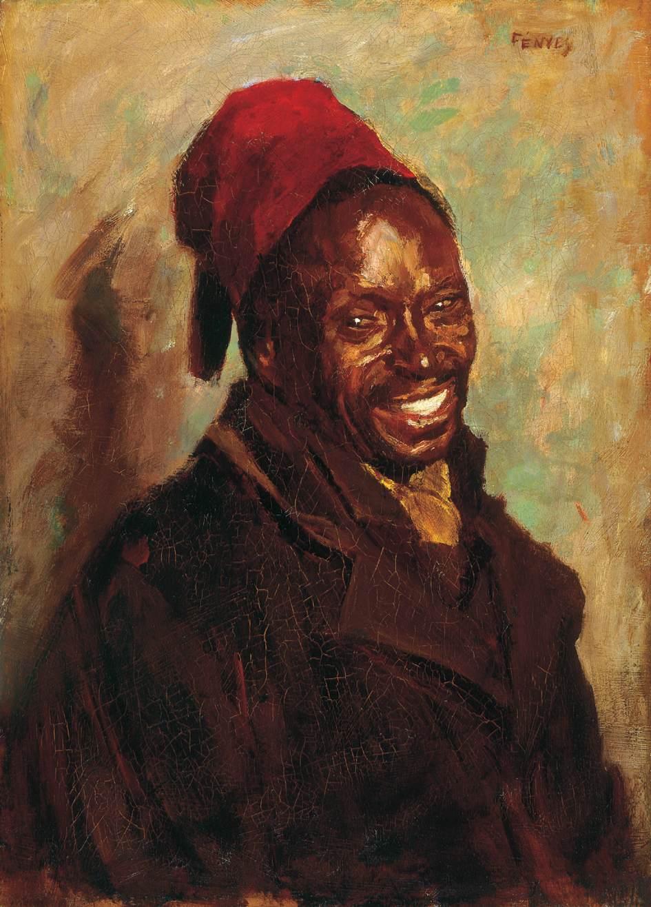 Negro   Adolf Fenyes   oil painting