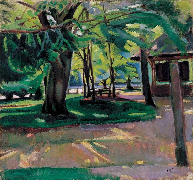 Park 1912 | Andor Eros | oil painting