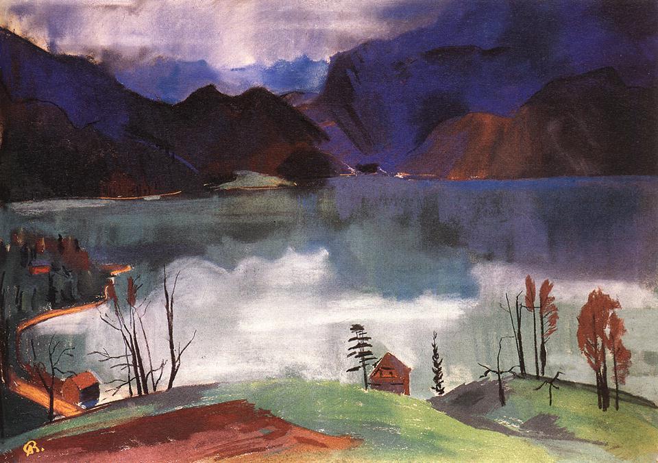 Walchensee No 2 1928 | Aurel Bernath | oil painting