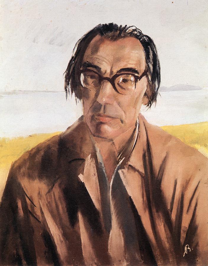 Portrait of Lorinc Szabo 1955 | Aurel Bernath | oil painting