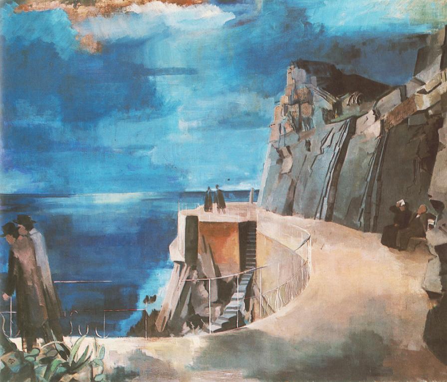 La Riviera 1926 27 | Aurel Bernath | oil painting