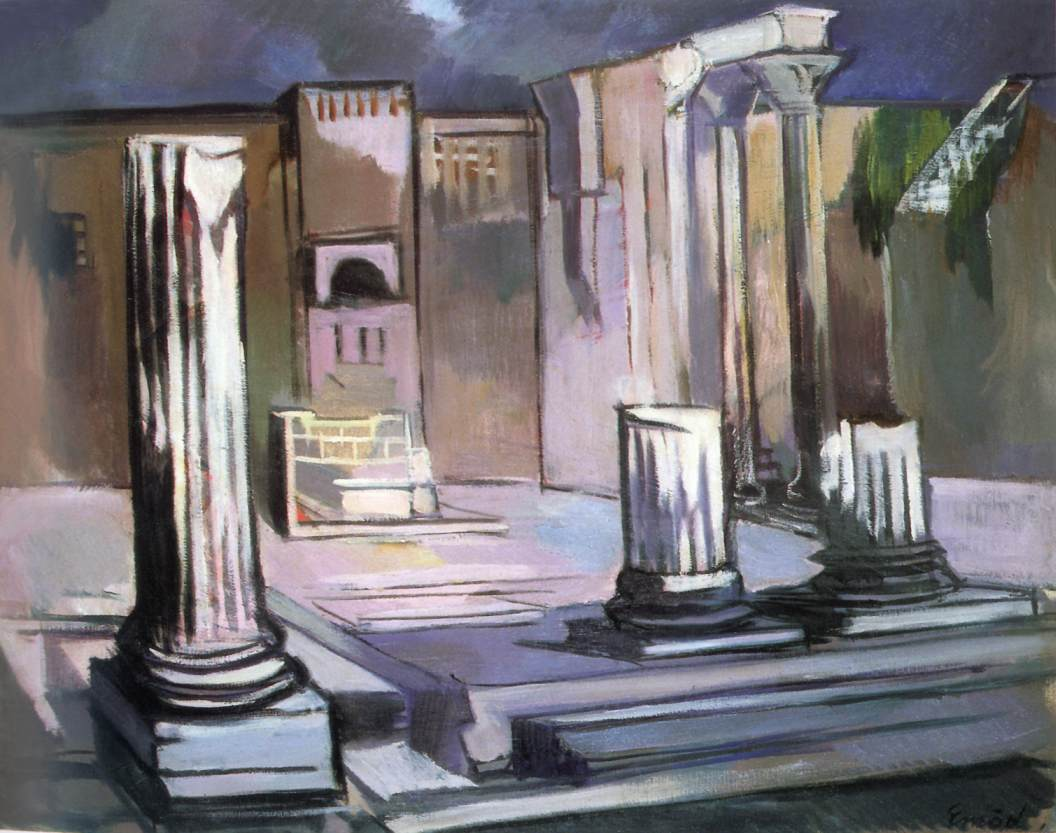 Forum Romanum | Aurel Emod | oil painting