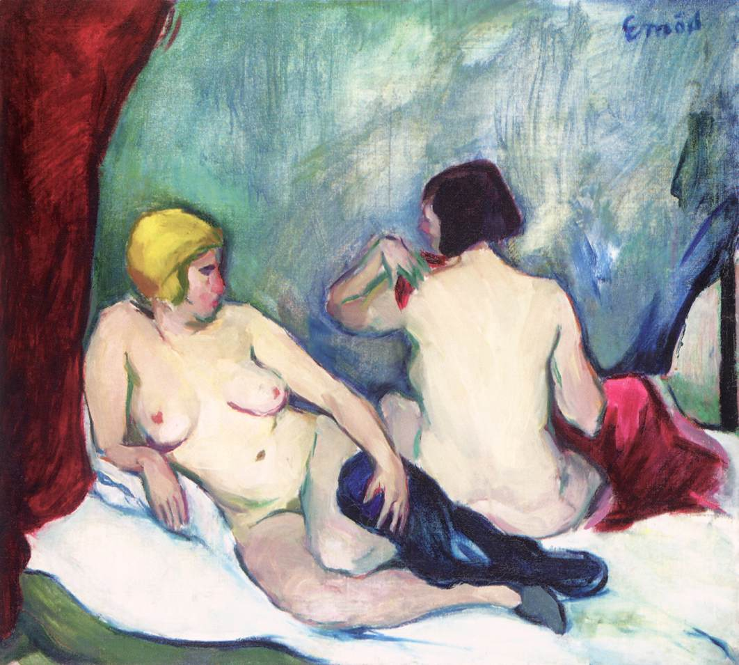 Nudes | Aurel Emod | oil painting